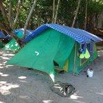 the luxury tent