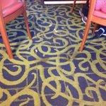 la alfombra es un asco
