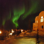 Aurora from the 2nd floor bathroom!