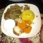 Gryro (meat only, no pita) plate