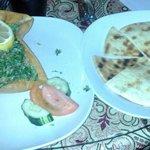 Tabouli salad in a FRIED shell (pita $1)