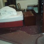 AVOID!! this is what we got when opened door to our room! 2 rooms and very hel