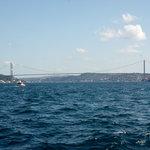 cruising along the strait