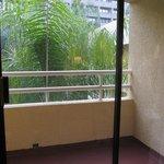 balcony - overlooking pool area
