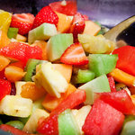 Breakfast - Fresh fruit