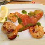 Valentines seafood starter ;)