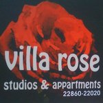 villa rose label