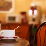 Free tea and coffee