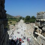 Ephesus - View from main amphitheatre towards harbour
