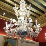 Chandelier in our room