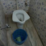 Not just the toilet but