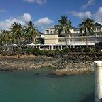 Hotel taken from nearby pier