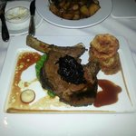 Aged grain fed Prime Rib of Beef with Roast chat potatoes