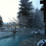 The Wiesbaden hot springs swimming pool.