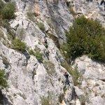 Ferentillo, le famose pareti da scalata