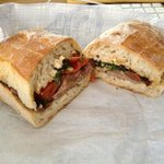 Fresh beef sandwich - the ciabatta was great