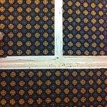 Gaffa taped carpet