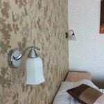 mismatched bedside lights