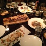 Small Plates with amazing wine paring