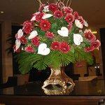 composizione di fiori nellìhotel