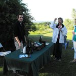 Private Miles Winery wine tasting at our inn