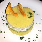 Shrimp, Avocado and Potato Appetizer