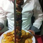 mixed meat kebab - excellent !