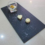 Home made chocolate with orange touch