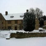 Charney Manor in the snow