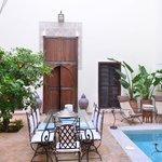 Riad du ciel-Porta di una camera al piano terra