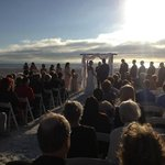 Our beautiful wedding at Sirata Beach Resort.