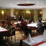 ужин в ресторане отеля