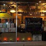 draggin' dragon lights it up at Christmas time