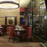 ENVY The Steakhouse - Glass Enclosed Wine Room