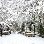 Gloriette sous la neige