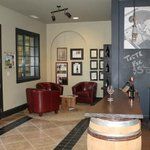 Interior of Drew Family Cellars tasting room