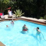 Pool zum abkühlen und Spass haben