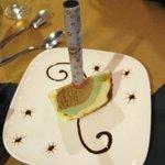 My Birthday celebration in the italian restaurant in el bosque