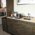 Kitchenette and Mini Bar ; Nespresso available but not in this picture