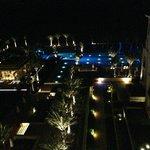 Blick vom Hotelzimmer