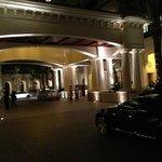 Hotelvorfahrt