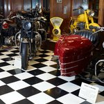 About 100 unique motorcycles on exhibit year-round