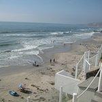Beach from Casa Farolito