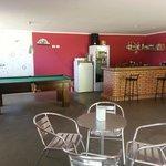 bar and social area