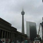 Vu de la CN tower