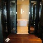 Closet & bathroom