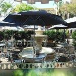 Cafe Terrace next to entrance