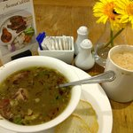 Oxtail soup and the teh tarik