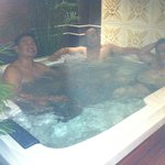 Spa Jacuzzi on the 2nd floor