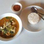 Sukiyaki Soup & Chicken - Lovely at $3 total